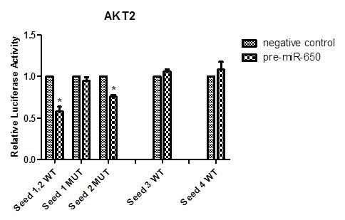 SSAT - MiR-650: a Potential Prognostic Biomarker and