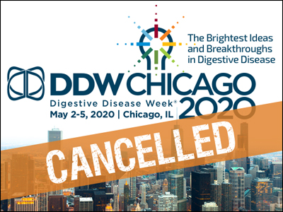 DDW 2020 Cancelled